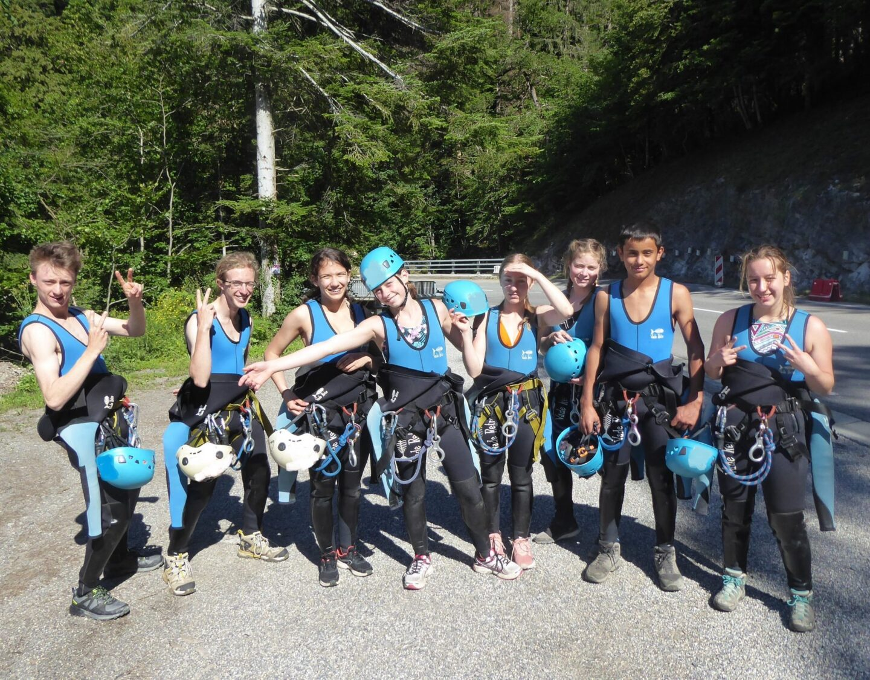 Canyon Haute Savoie Mont Blanc