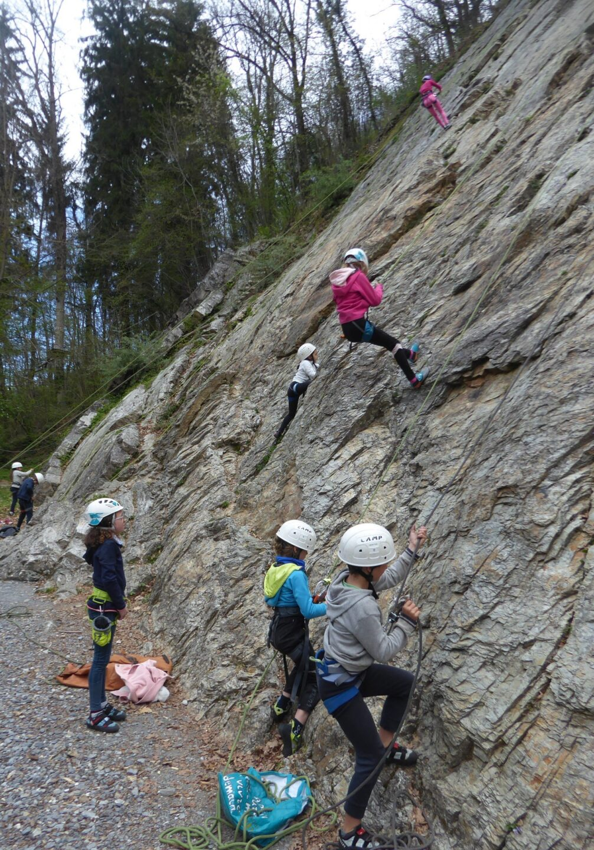 Escalade chamonix genève via ferrata canyoning