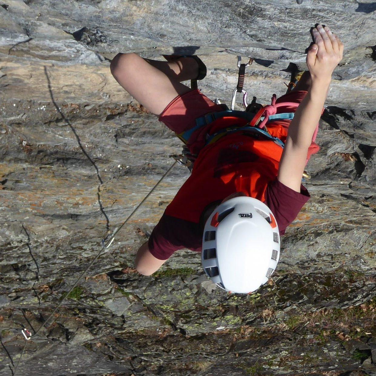 Escalade pleine aire outdoor Chamonix